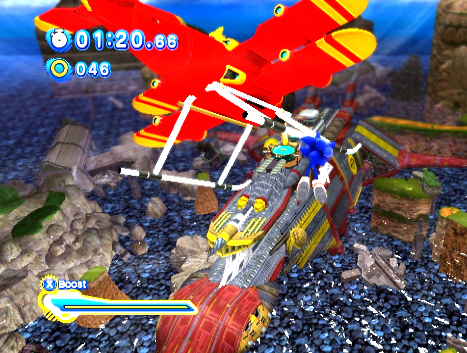 Sonic Adventure Generations Developer Commentary