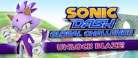 Blaze For Blaze in Sonic Dash's Second Global Challenge