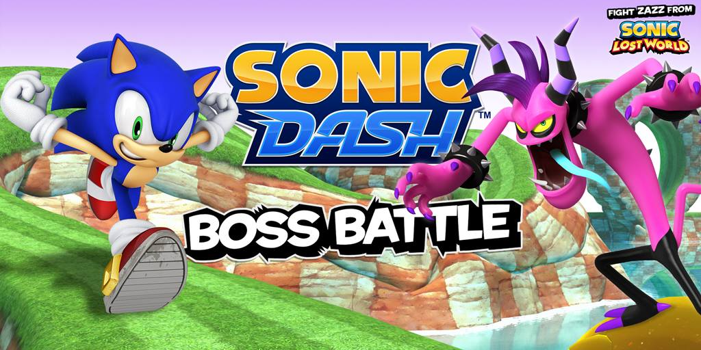 Zazz Joins The Brawl… er… Dash!