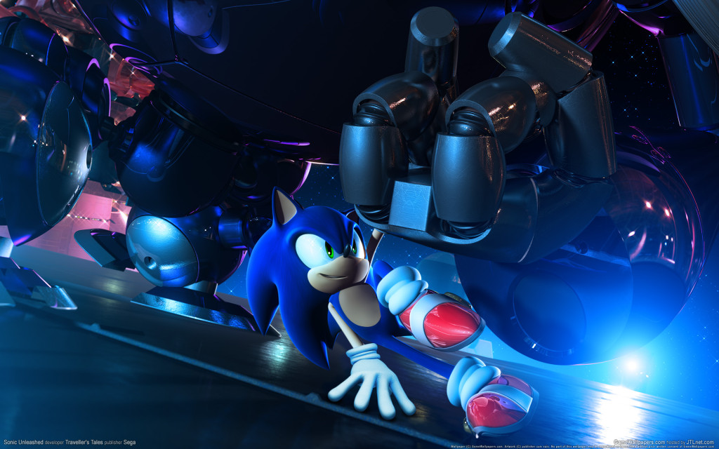 Sonic Unleashed screen