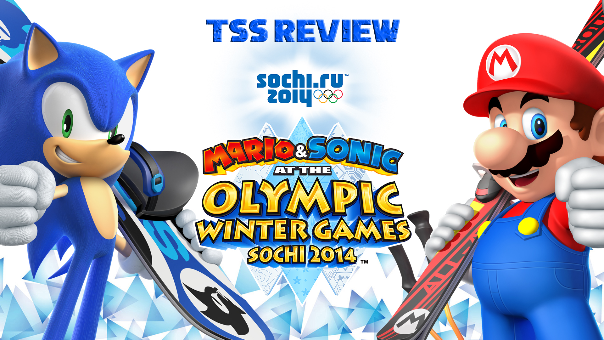 Tss Review Mario Amp Sonic At The Sochi 2014 Olympic Winter