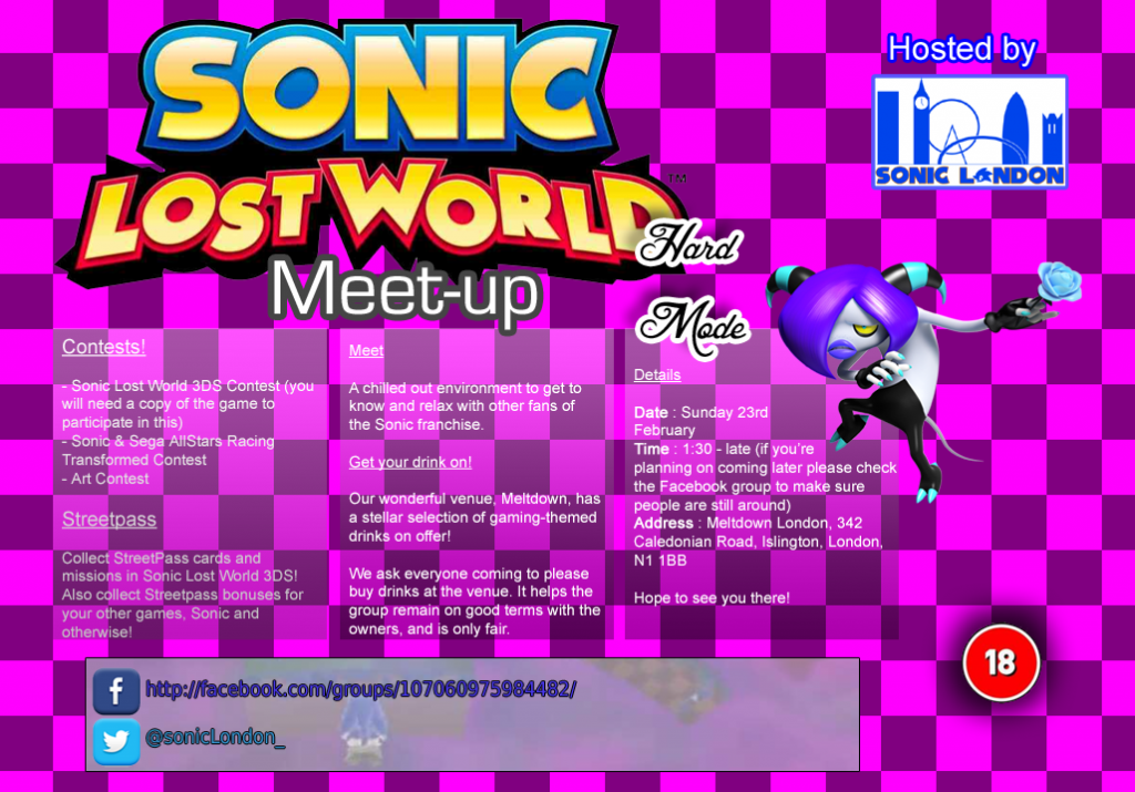 The 13th Annual Sonic London Meetup