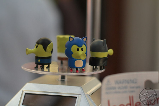Sonic Themed Doodle Jump Figures Spotted at London Toy Fair