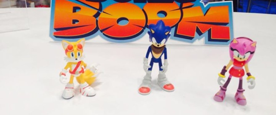 Sonic Boom: First look at the Toy Line