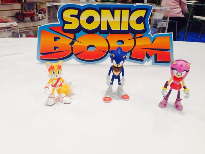 Sonic Boom: First look at the Toy Line!