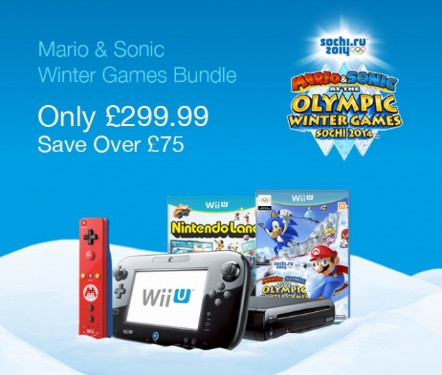 Nintendo UK Store offers Mario & Sonic Wii U Bundle