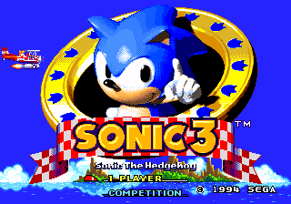 Happy 20th Birthday Sonic the Hedgehog 3!