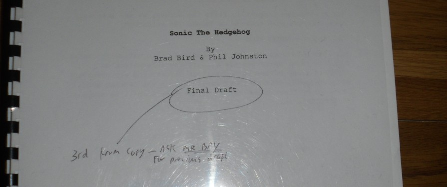AFD 2014: Sonic the Hedgehog Film Script Leaked