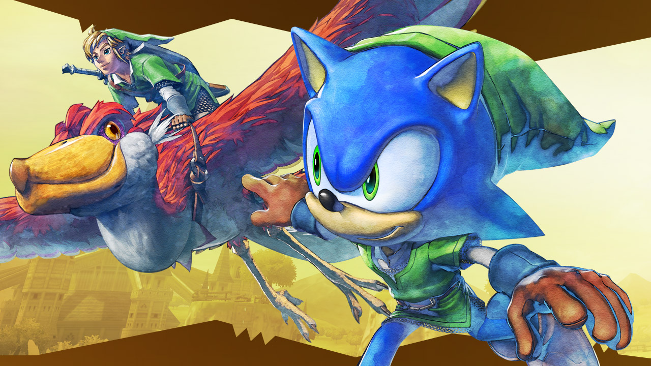 Sonic Lost World's Zelda DLC Revealed, Out Tomorrow