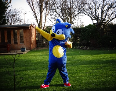 Sonic to run the London Marathon to fight Leukaemia