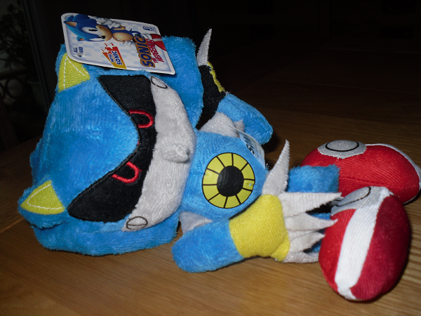 TSS Review: Jazwares Metal Sonic Plush