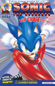 Preview: Sonic the Hedgehog #259