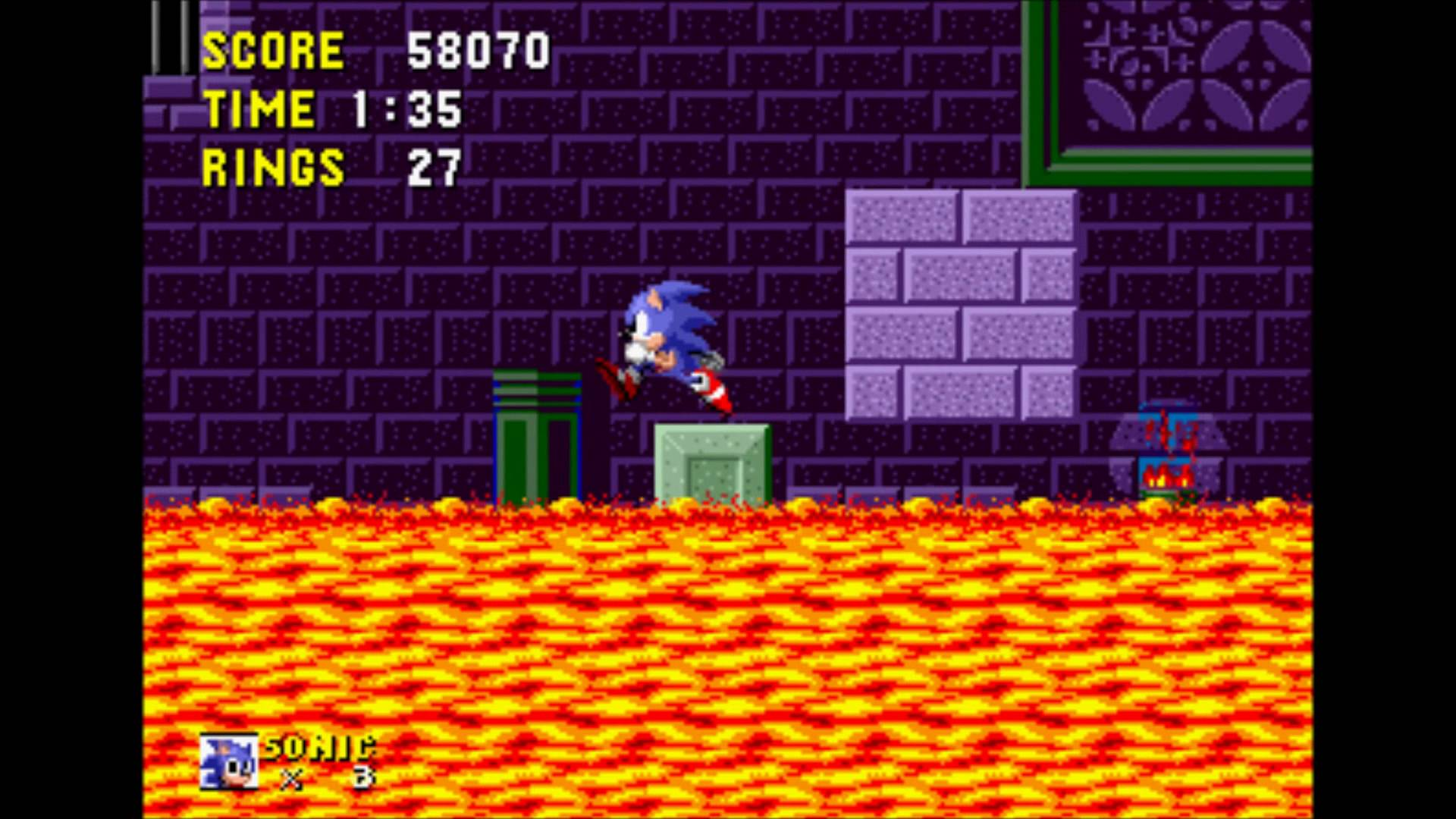 Sonic - Final Fantasy 1 Game