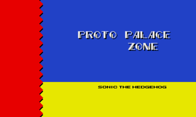 Sonic 2 Remastered Proto Palace Zone Discovered The