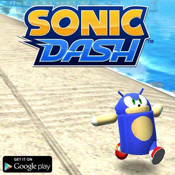 Andronic races onto Sonic Dash for Android