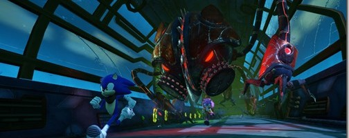New Sonic Boom Gameplay and Cutscene Footage