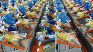 First 4 Figures' Sonic Generations Diorama production pics released