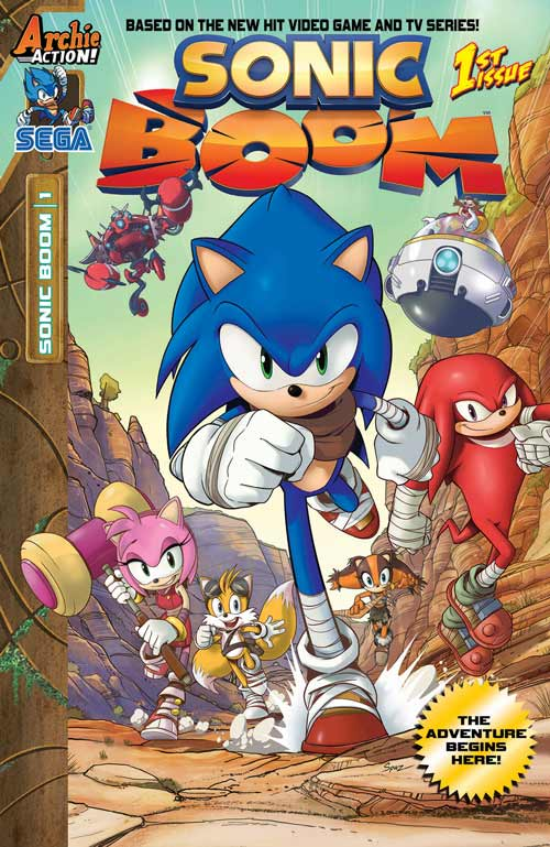 Archie Comics Sonic Boom Title Revealed