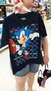 This is the Bestist Sonic Shirt in The World