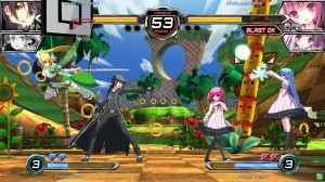Dengeki Bunko Fighting Climax is Coming to the west *It has a Sonic stage in it*