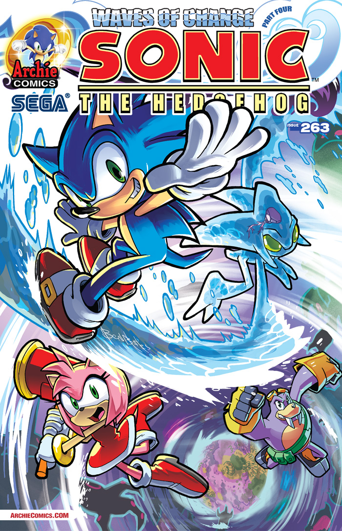 Preview: Sonic the Hedgehog #263