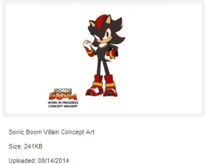 Shadow is a Villain in Sonic Boom?