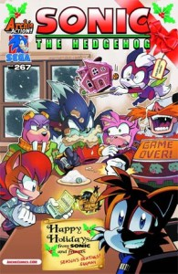 Covers and Solicitations for Sonic the Hedgehog #267, Sonic Universe #70 and Sonic Boom #2 Revealed
