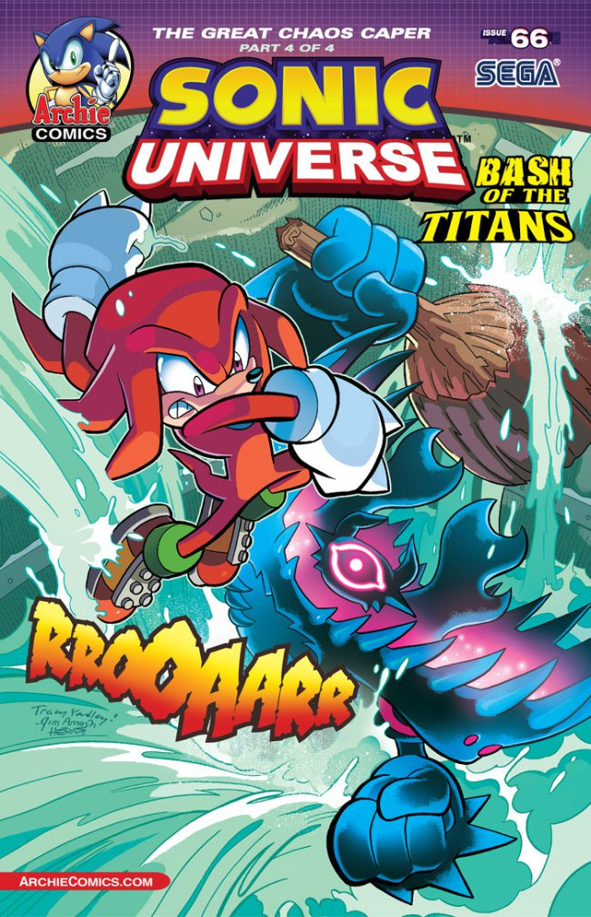 Preview: Sonic Universe #66