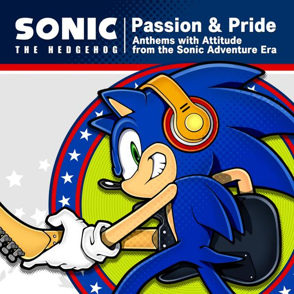 "Sonic Channel/Crush 40 Announce New Sonic Music CD ""Passion and Pride"""
