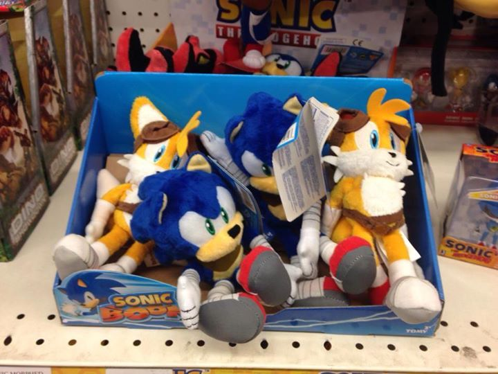 First Sonic Boom Toys Spotted in Toys R Us