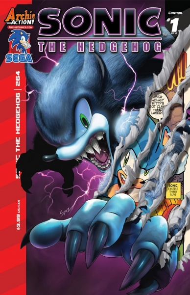 Preview: Sonic the Hedgehog #264