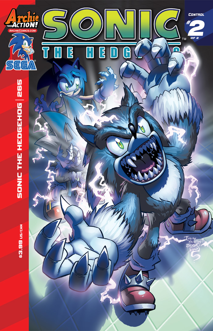 Preview: Sonic the Hedgehog #265