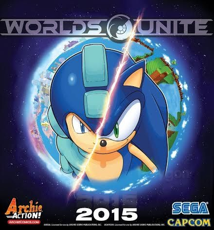 Sonic/Mega Man Worlds Unite Coming 2015
