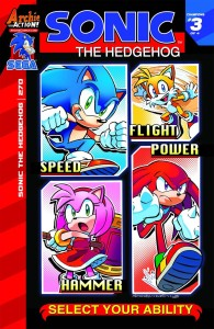 Covers and Solicitations for Sonic the Hedgehog #270, Sonic Universe #73, Sonic Boom #5 and More Revealed