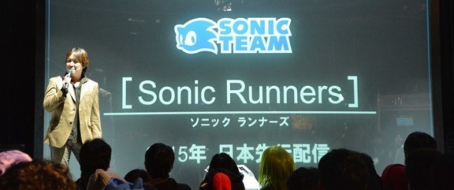 Sonic Runners Announced By Sonic Team, For Smartphones