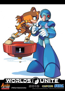 World's Collide 2: Sonic Vs Sonic Boom Vs Mega Man, Vs Mega Man X