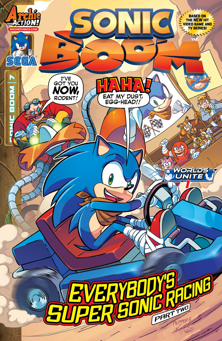Solicitations for Sonic the Hedgehog #272, Sonic Universe ...