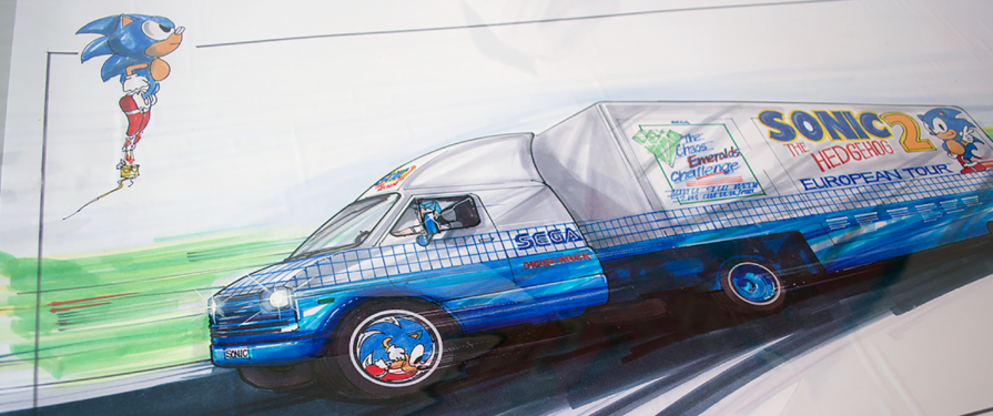 Sonic 2 Logo and Tour Truck Concepts Found