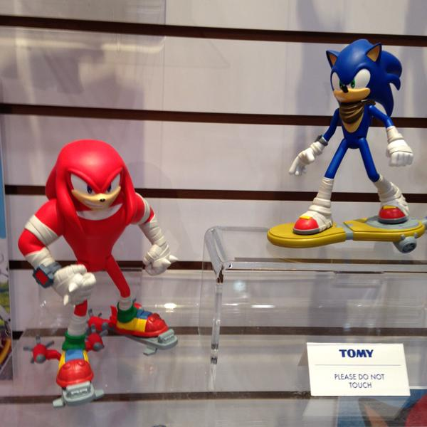 UPDATE: Sonic Boom Shoes, Trading Cards, Shadow, Metal Sonic & More Spotted at Toy Fair 2015