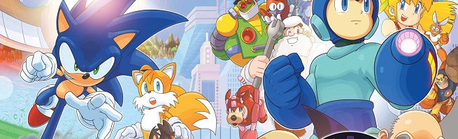 Covers and Solicitations for Mega Man #50, Sonic Universe #77, Sonic Boom #9, Sonic #274 And More