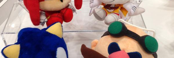 Big Headed Sonic Boom Plushies Spotted at New York Toy Fair