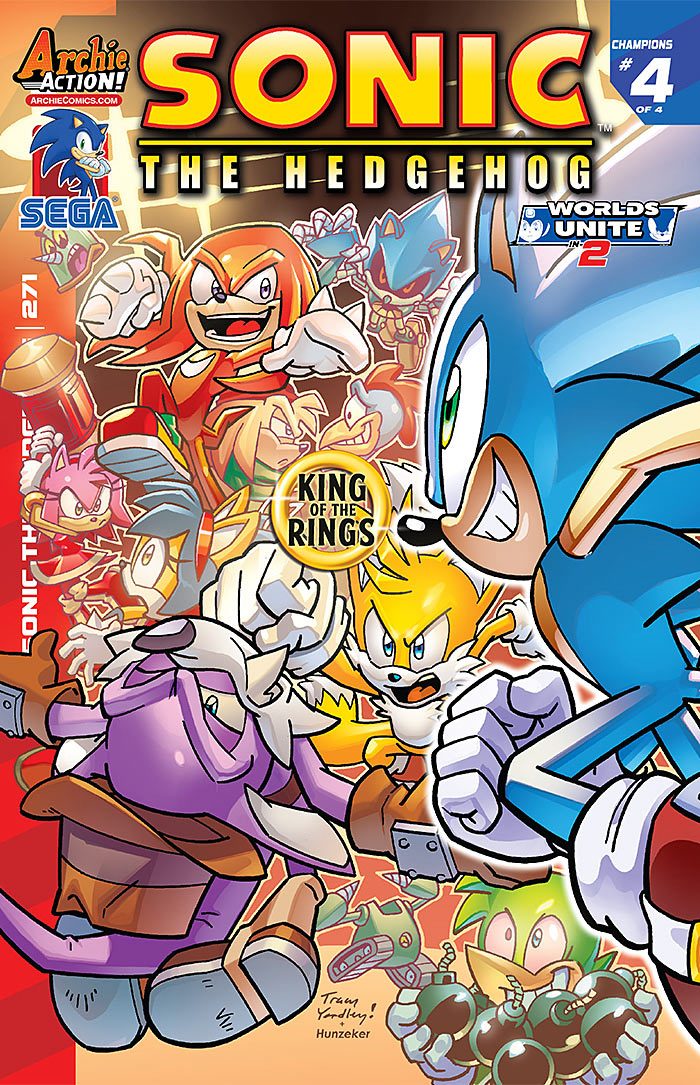 Preview: Sonic the Hedgehog #271
