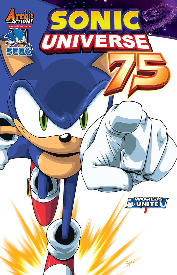 Preview: Sonic Universe #75