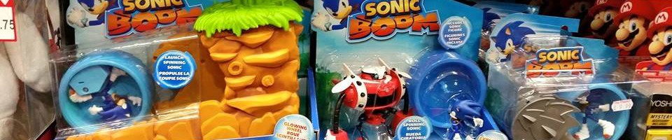 Sonic Boom Toys Now Available in the UK