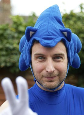 Neil Light Breaks a London Marathon World Record Whilst Dressed as Sonic