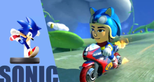 Sonic Amiibo Racing Suit coming to Mario Kart 8