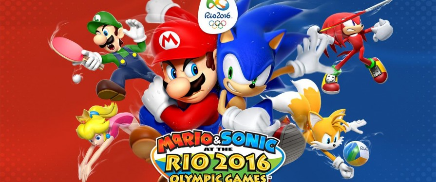 Mario & Sonic Rio Olympics Wii U dated for June 2016