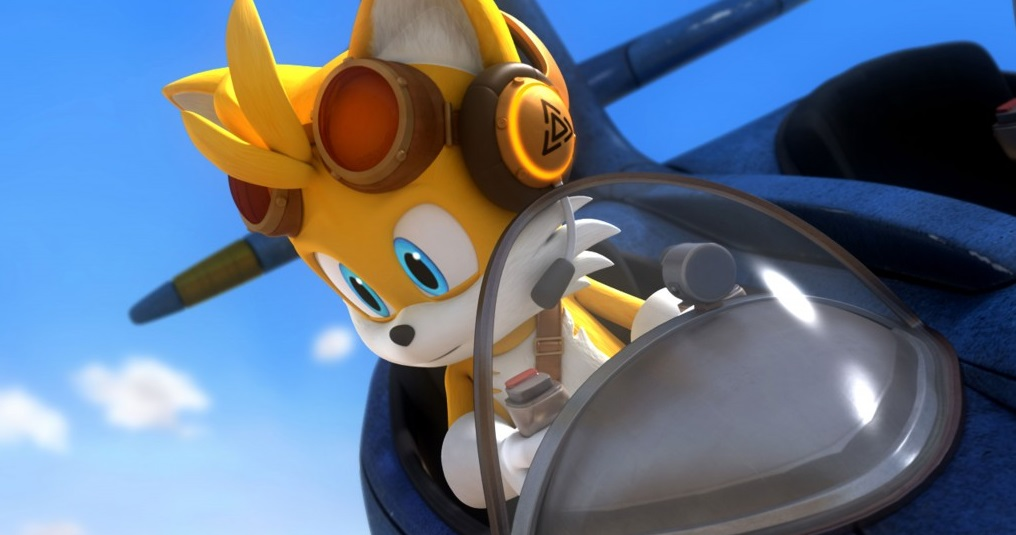 """""""Sonic! Did you say something? My headphones don't actually match up with my ears in any way!"""""""