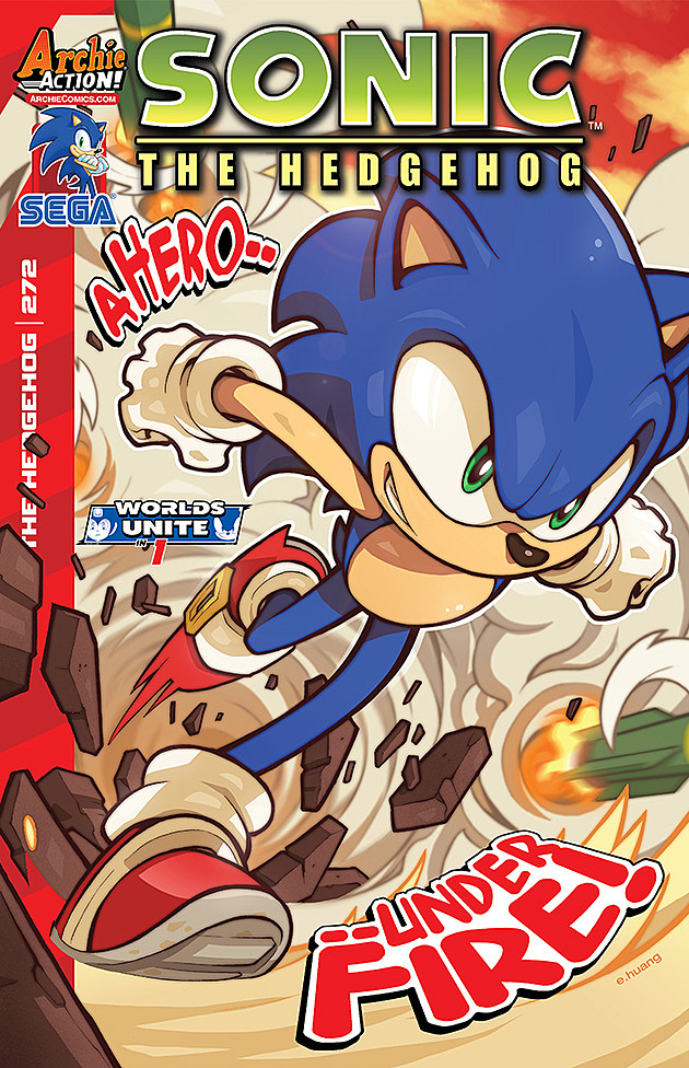 Preview: Sonic the Hedgehog #272