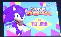 Sonic Boom to Air in The UK On June 1st!